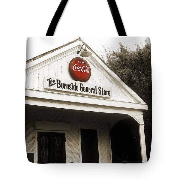 The Burnside General Store Tote Bag by Scott Pellegrin