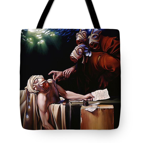 The Death Of Mullet Tote Bag by Patrick Anthony Pierson