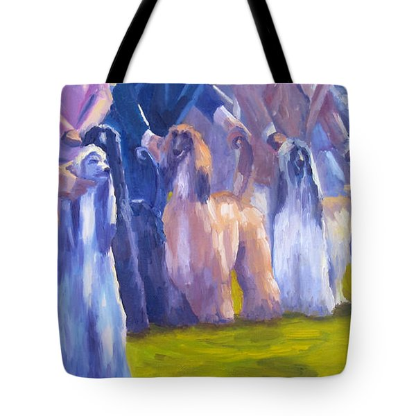 The Girls Tote Bag by Terry  Chacon