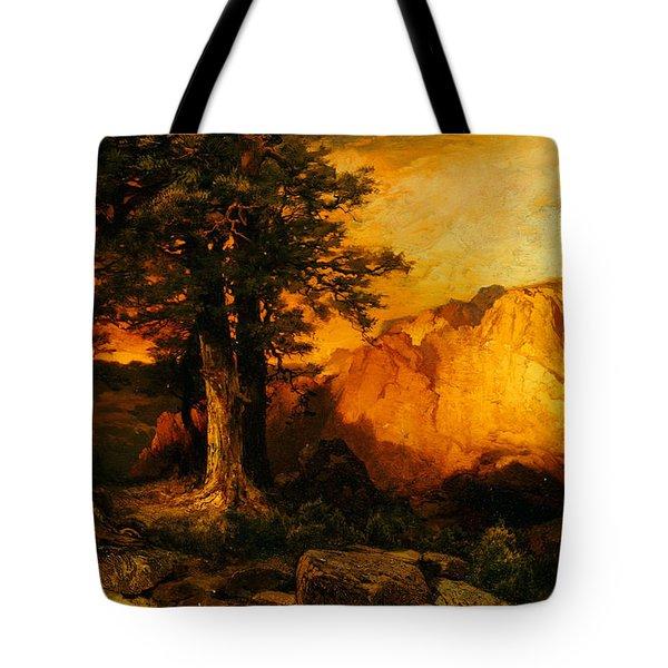 The Grand Canyon Tote Bag by Thomas Moran