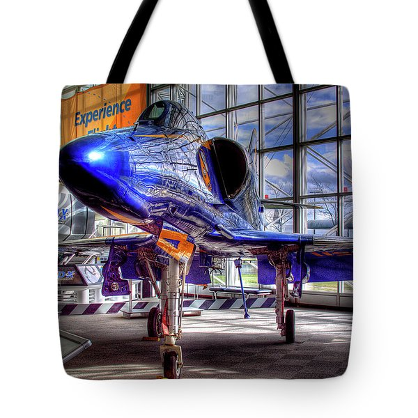 The Navy's Blue Angel Tote Bag by David Patterson