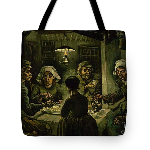 The Potato Eaters, 1885 Tote Bag by Vincent Van Gogh