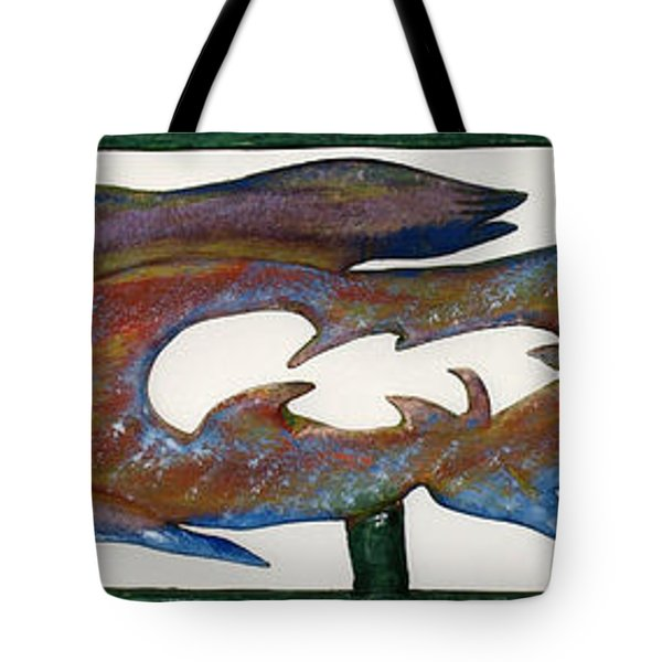 THE PROZAK FISH Tote Bag by Robert Margetts