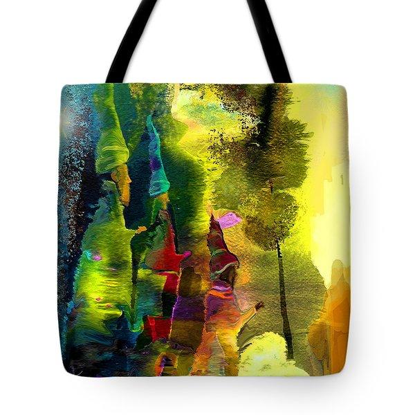 The Three Kings Tote Bag by Miki De Goodaboom