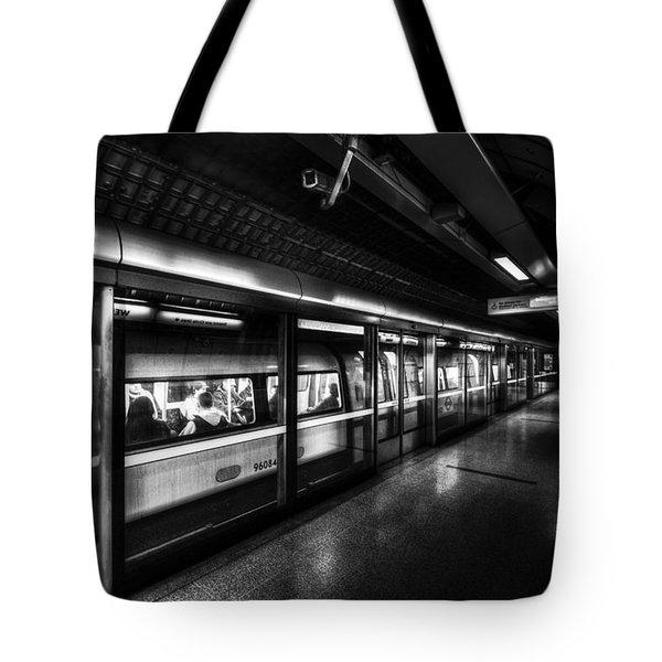 The Underground System Tote Bag by David Pyatt