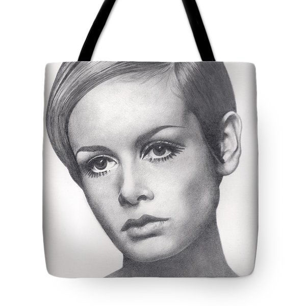 Twiggy Tote Bag by Karen  Townsend