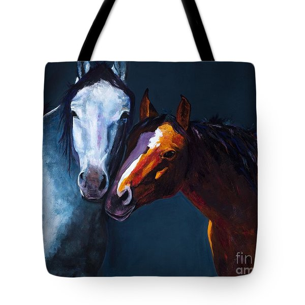 Unbridled Love Tote Bag by Frances Marino