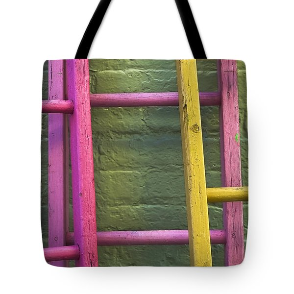 Upwardly Mobile Tote Bag by Skip Hunt