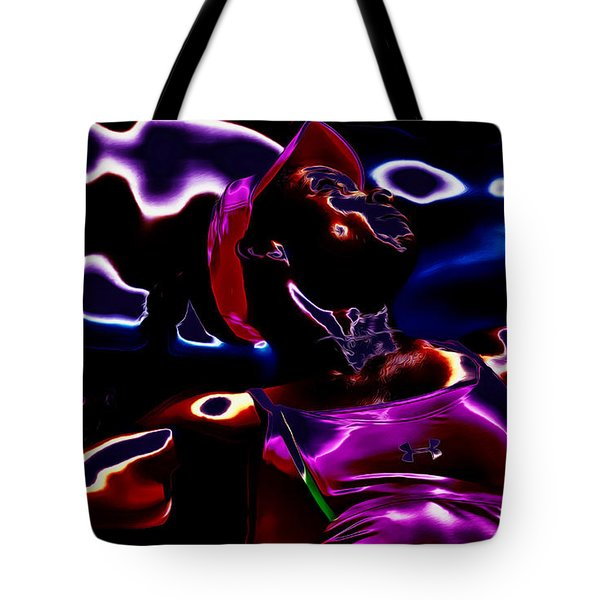 Venus Williams Match Point Tote Bag by Brian Reaves