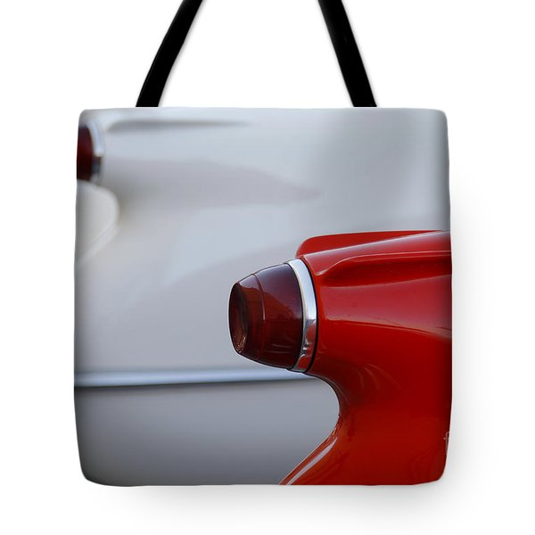 Vette Tails Tote Bag by Dennis Hedberg