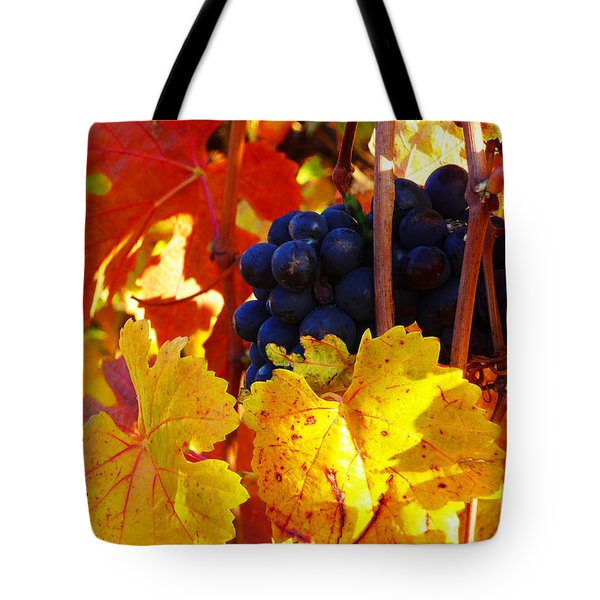 Vineyard 16 Tote Bag by Xueling Zou
