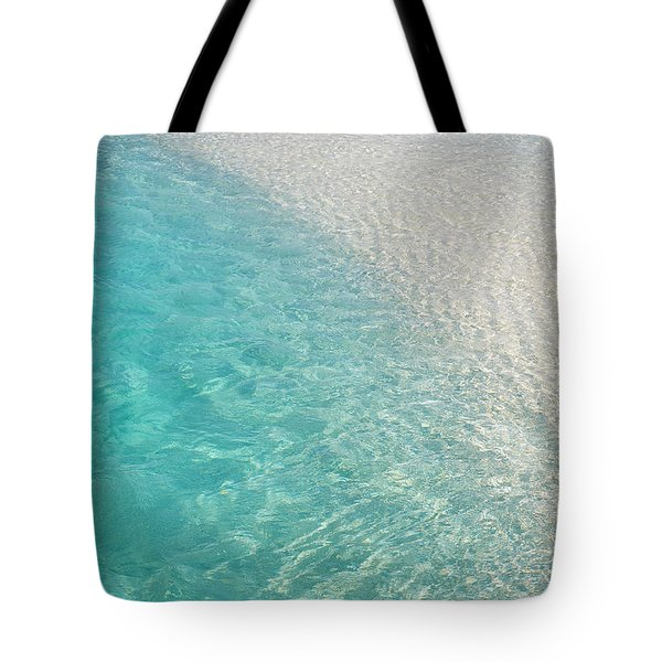 Water Meditation I. Five Elements. Healing With Feng Shui And Color Therapy In Interior Design Tote Bag by Jenny Rainbow