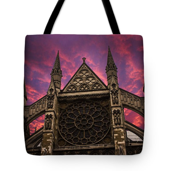 Westminster Abbey Tote Bag by Martin Newman