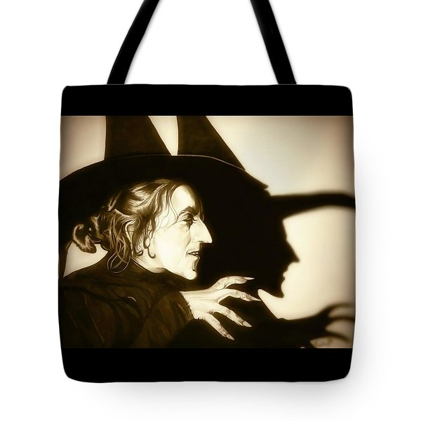 Wicked Witch Of The West Tote Bag by Fred Larucci