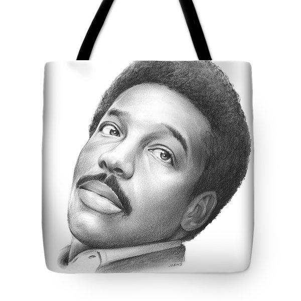 Wilson Pickett Tote Bag by Greg Joens