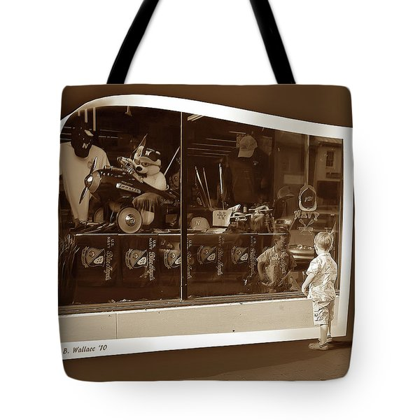 Window Dreaming Tote Bag by Brian Wallace