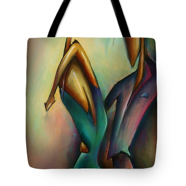 X Tote Bag by Michael Lang