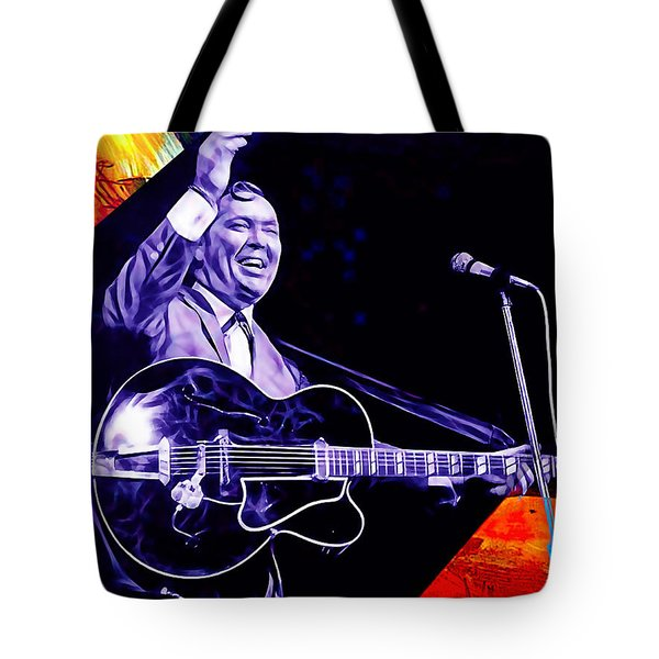 Bill Haley Collection Tote Bag by Marvin Blaine