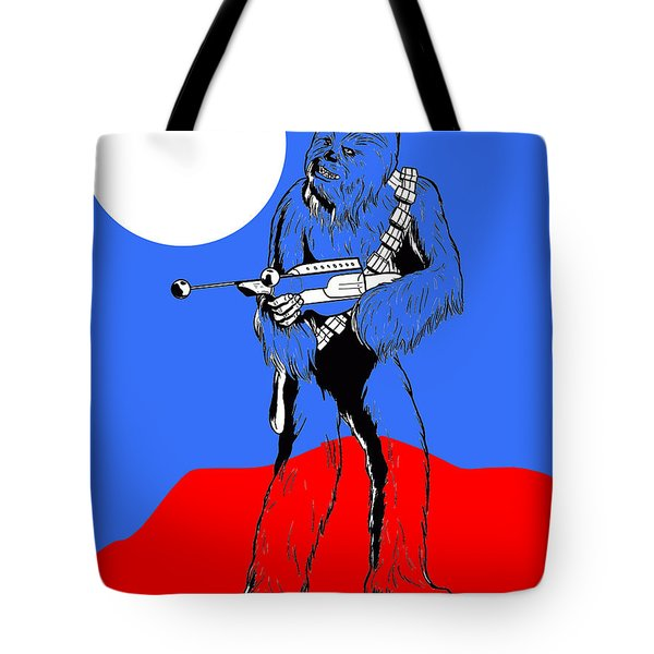 Star Wars Chewbacca Collection Tote Bag by Marvin Blaine