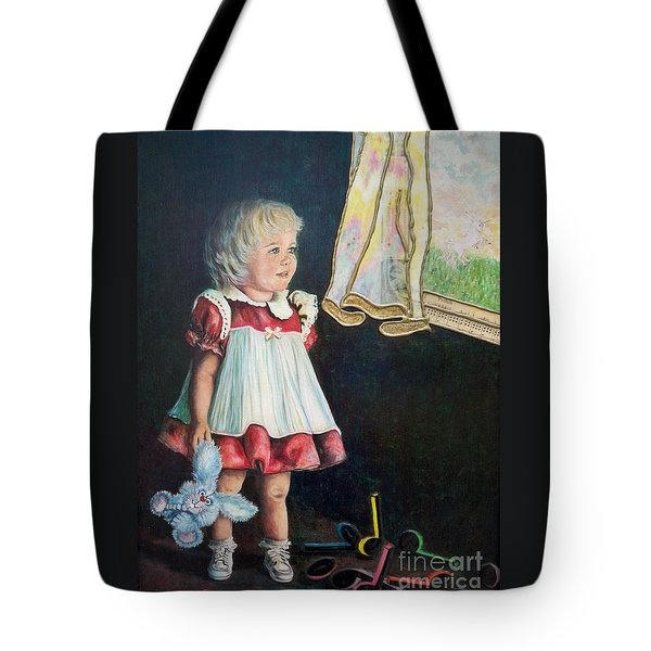 101 Imagination Girl Tote Bag by Sigrid Tune