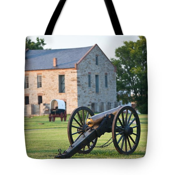 12-pounder Napoleon Tote Bag by Jonas Wingfield