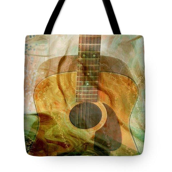 12 String Tote Bag by Linda Sannuti