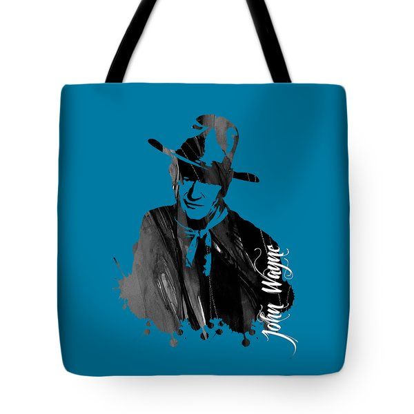 John Wayne Collection Tote Bag by Marvin Blaine