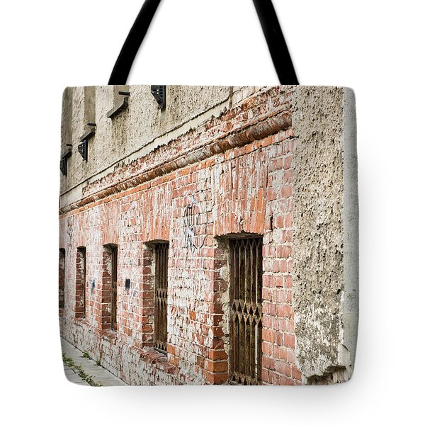 Derelict Building Tote Bag by Tom Gowanlock