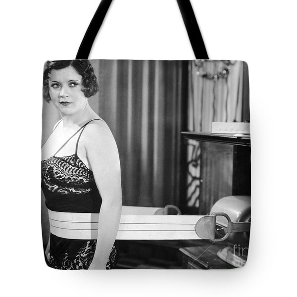 Silent Still: Exercise Tote Bag by Granger