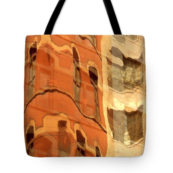 Abstract Tote Bag by Tony Cordoza