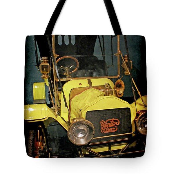 1904 Winton Flyer Tote Bag by Ernie Echols