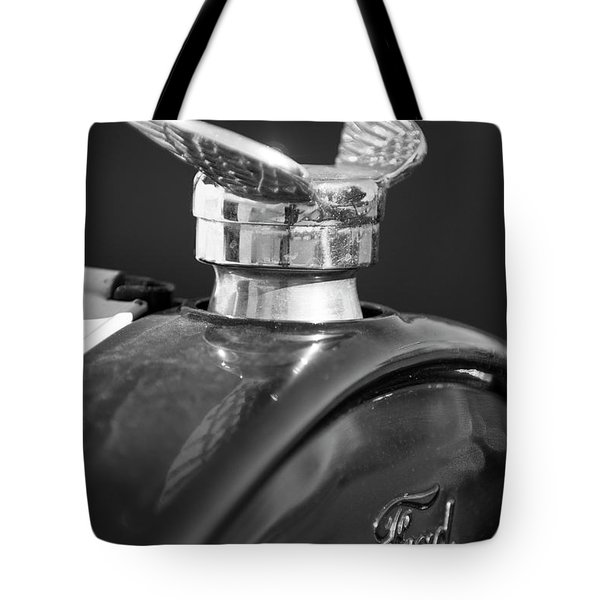 1925 Ford Model T Hood Ornament 2 Tote Bag by Jill Reger