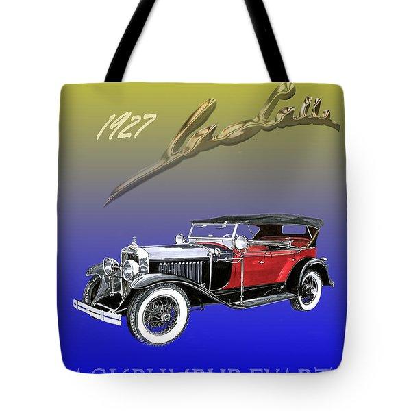 1927 Lasalle Tote Bag by Jack Pumphrey