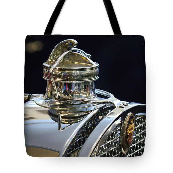1929 Packard 8 Hood Ornament 3 Tote Bag by Jill Reger