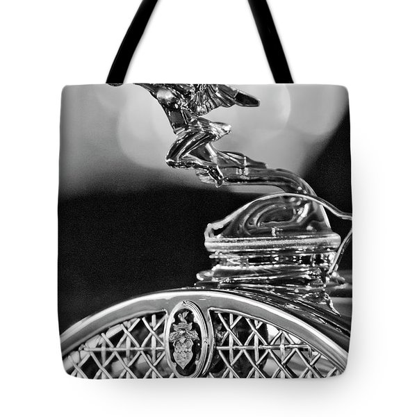 1931 Packard Convertible Victoria Hood Ornament 2 Tote Bag by Jill Reger
