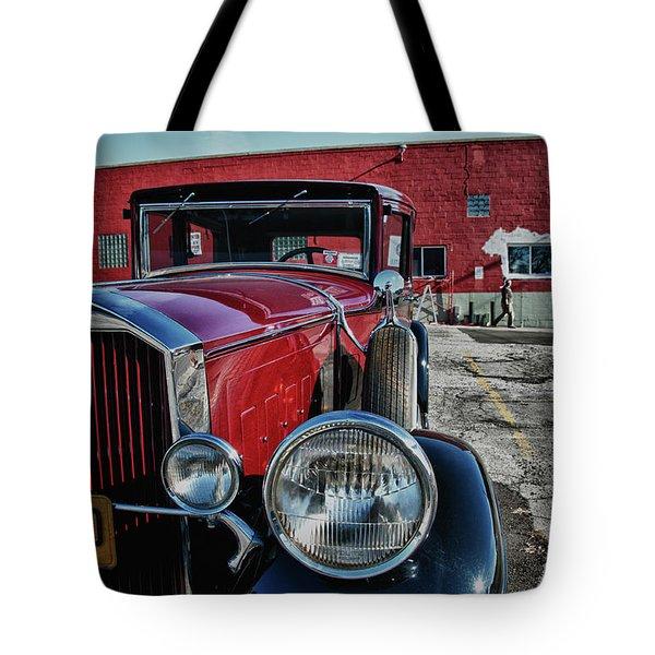 1931 Pierce Arow 3473 Tote Bag by Guy Whiteley