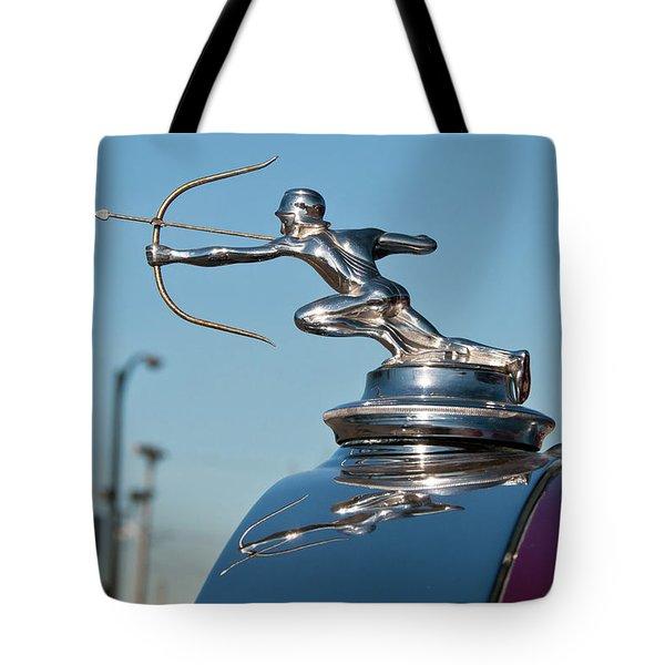 1931 Pierce Arrow 3471 Tote Bag by Guy Whiteley
