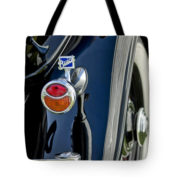 1932 Buick Series 60 Phaeton Taillight Tote Bag by Jill Reger