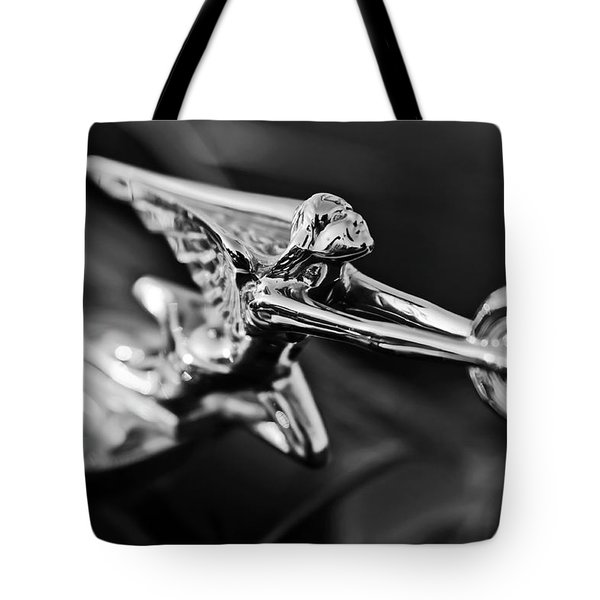 1934 Packard Hood Ornament 2 Tote Bag by Jill Reger