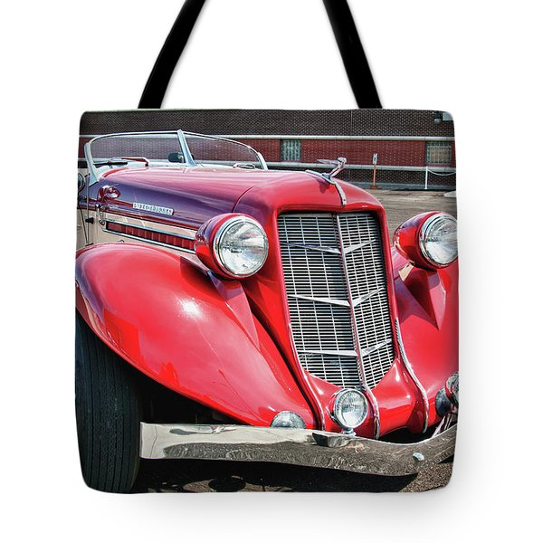 1935 Auburn Speedster 6870 Tote Bag by Guy Whiteley