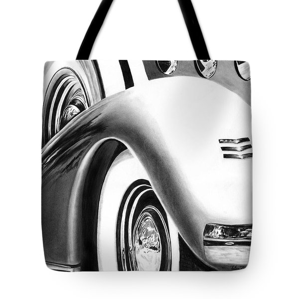 1935 Lasalle Abstract Tote Bag by Peter Piatt