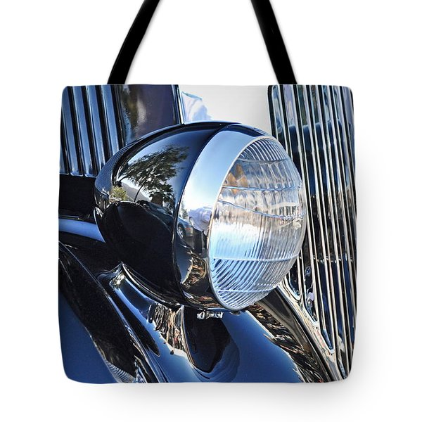 1936 Ford 2dr Sedan Tote Bag by Gwyn Newcombe