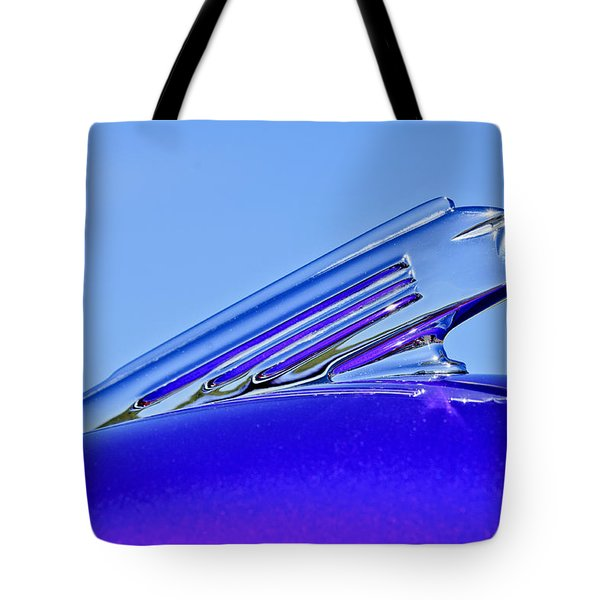 1939 Pontiac Coupe Hood Ornament 2 Tote Bag by Jill Reger