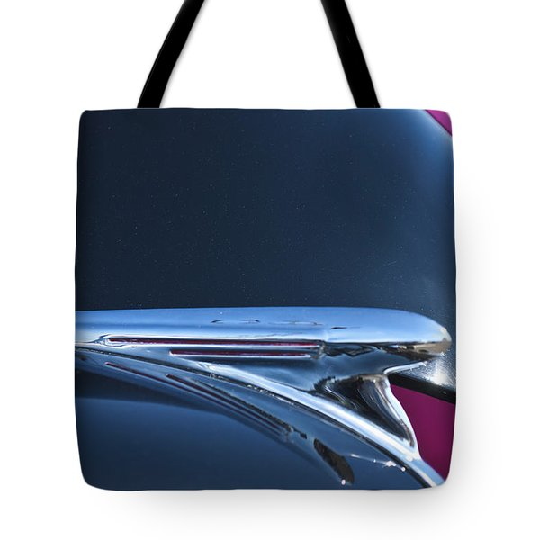 1940 Chevrolet Pickup Hood Ornament Tote Bag by Jill Reger