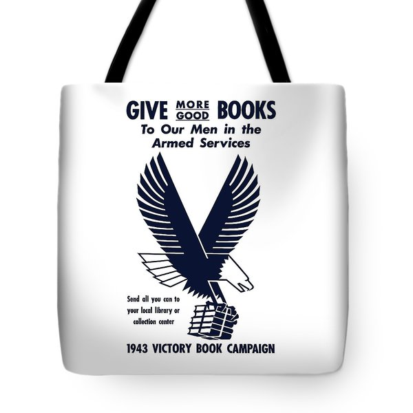 1943 Victory Book Campaign Tote Bag by War Is Hell Store
