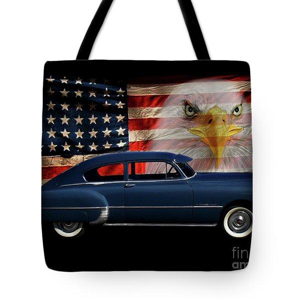 1949 Pontiac Tribute Tote Bag by Peter Piatt