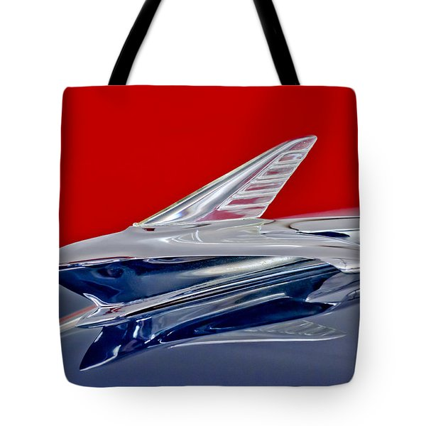 1951 Ford Woodie Hood Ornament Tote Bag by Jill Reger