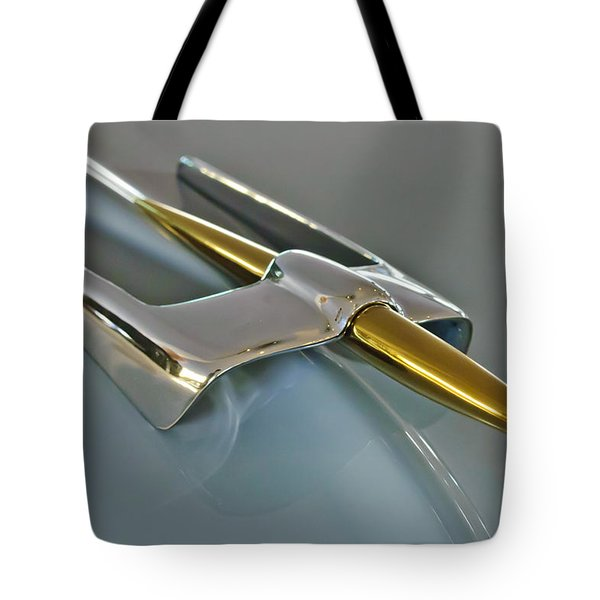 1953 Lincoln Hood Ornament Tote Bag by Jill Reger