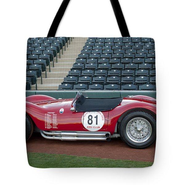 1954 Maserati A6 GCS  Tote Bag by Jill Reger
