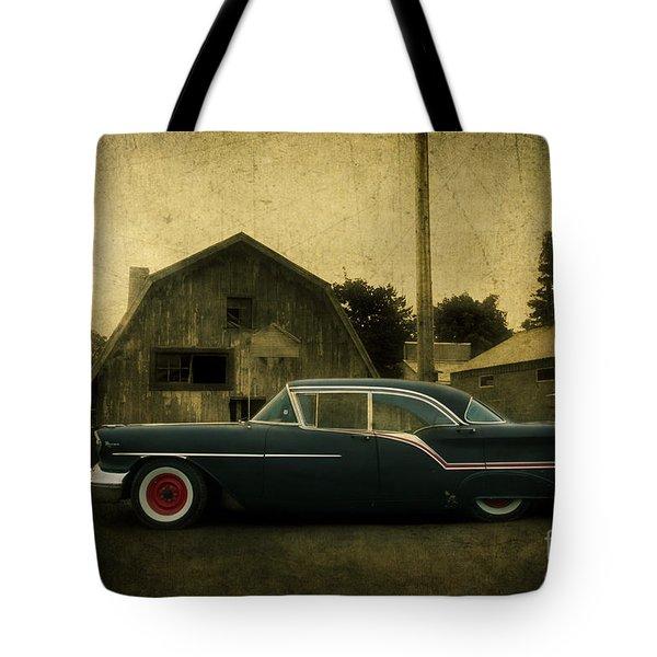 1957 Oldsmobile Tote Bag by Joel Witmeyer
